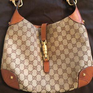 Vintage Gucci Jackie Bag